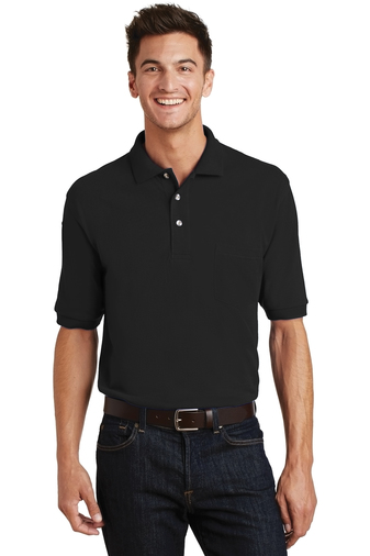 K420P-6XL - Port Authority® - Pique Knit Sport Shirt with Pocket
