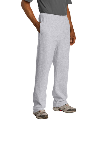 974MP - JERZEES Adult Open-Bottom Sweatpants with Pockets -S-3XL