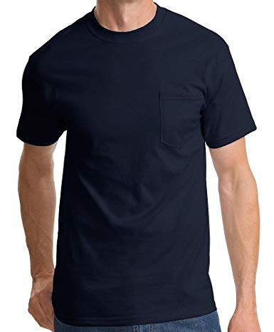 8400-6XL - Short Sleeve Pocket T-Shirt-Made in the U.S.A.