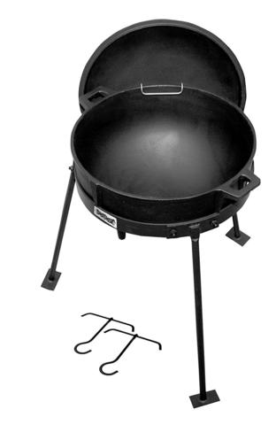 CI-7405 - 5 Gallon Cast Iron  Pot with Lid