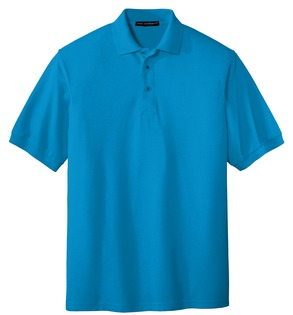 K500-4XL - Port Authority® - Extended Sized Silk Touch™ Sport Shirt.
