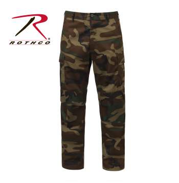 7941 - Ultra Force Woodland Camo BDU Pants  XS-6XL