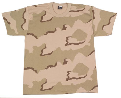 8767 - Camouflage T-Shirt-S-4XL