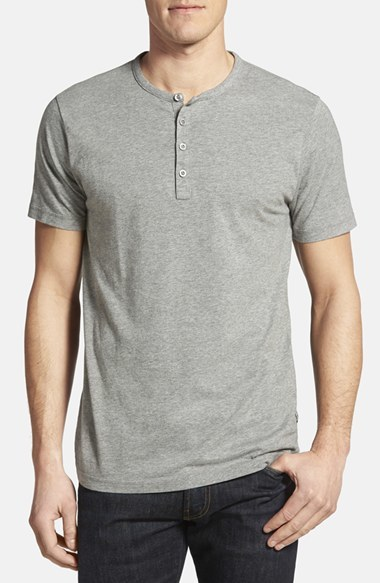 7400-4XLT - Short Sleeve Henley-Made in the U.S.A.