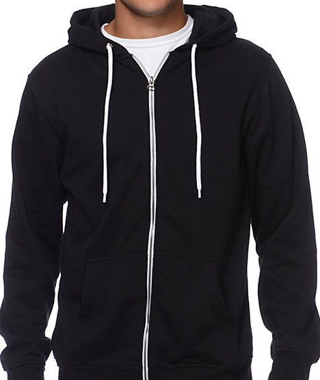 8860-3XLT - Hooded Zipper Sweatshirt-Made in the U.S.A.