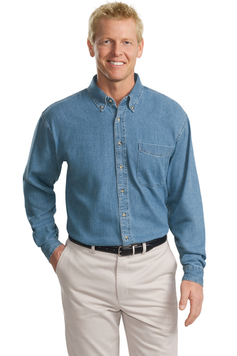 TLS600T-4XLT - Port Authority® - Tall Long Sleeve Twill Shirt