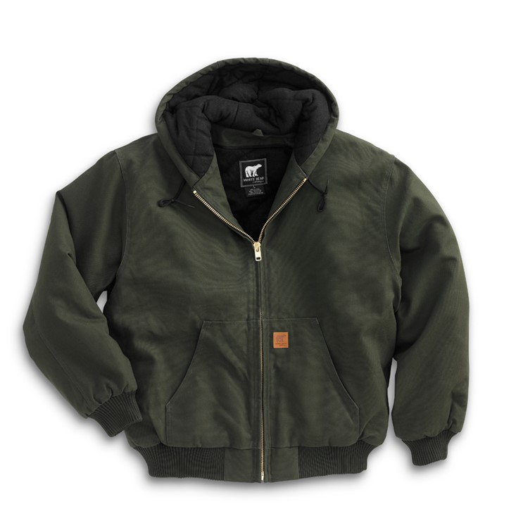 4440 - Cotton Duck Hooded Jacket S-6XLT