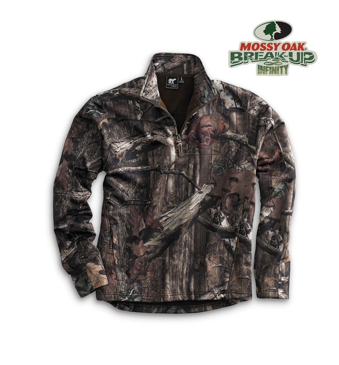 4651 - MOSSY OAK CAMO PULLOVER S-6XLT
