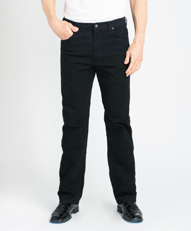 183 - Big Man Black Stretch Denim
